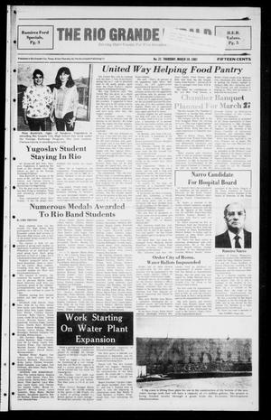 Primary view of object titled 'The Rio Grande Herald (Rio Grande City, Tex.), No. 21, Ed. 1 Thursday, March 19, 1987'.