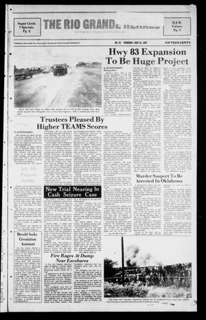 The Rio Grande Herald (Rio Grande City, Tex.), No. 35, Ed. 1 Thursday, June 25, 1987