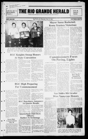 Primary view of object titled 'The Rio Grande Herald (Rio Grande City, Tex.), Vol. 79, No. 26, Ed. 1 Thursday, May 11, 1989'.