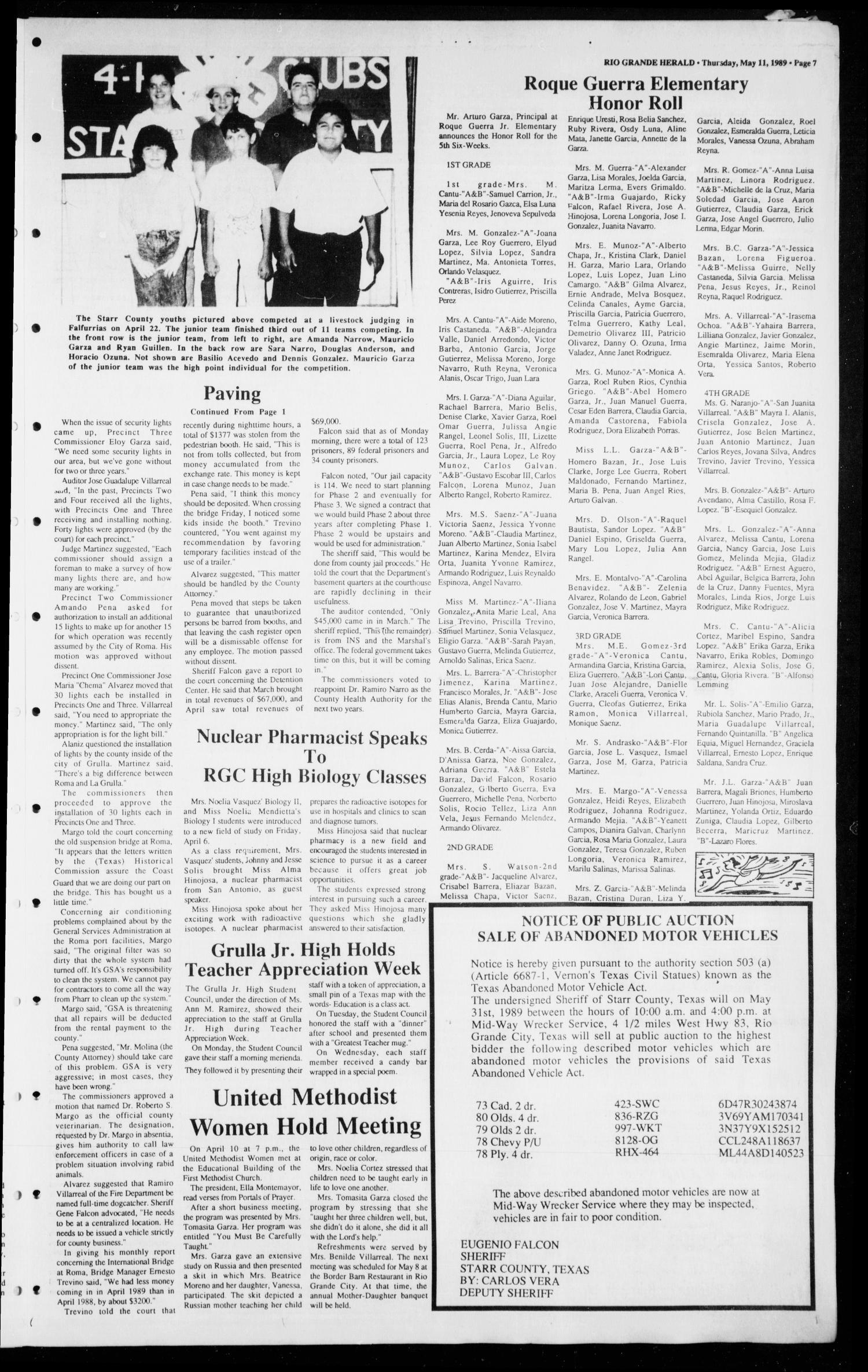 The Rio Grande Herald (Rio Grande City, Tex ), Vol  79, No