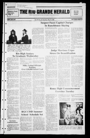 Primary view of object titled 'The Rio Grande Herald (Rio Grande City, Tex.), Vol. 79, No. 28, Ed. 1 Thursday, May 25, 1989'.