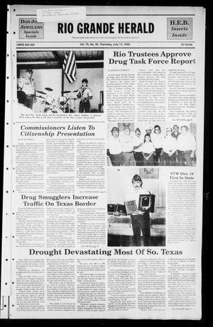 The Rio Grande Herald (Rio Grande City, Tex.), Vol. 79, No. 35, Ed. 1 Thursday, July 13, 1989