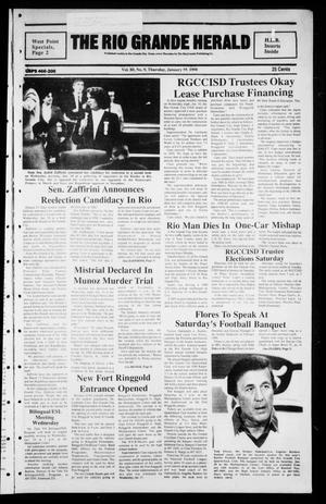 Primary view of The Rio Grande Herald (Rio Grande City, Tex.), Vol. 80, No. 9, Ed. 1 Thursday, January 18, 1990