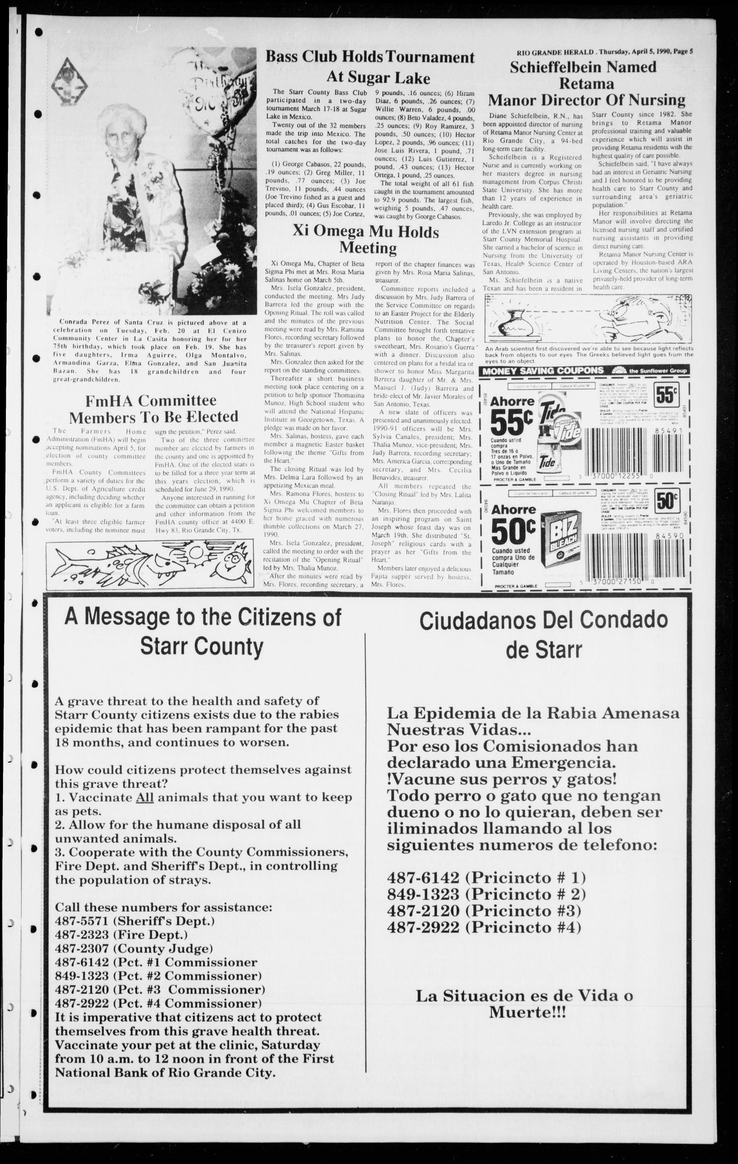 The Rio Grande Herald (Rio Grande City, Tex ), Vol  80, No