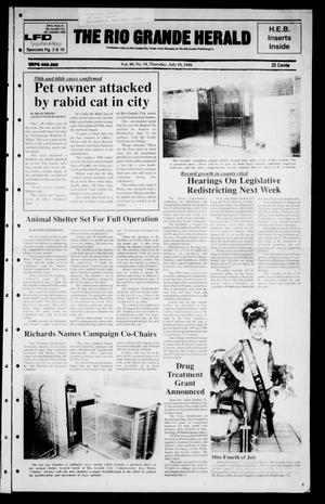 The Rio Grande Herald (Rio Grande City, Tex.), Vol. 80, No. 34, Ed. 1 Thursday, July 19, 1990