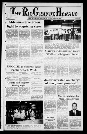 Primary view of object titled 'Rio Grande Herald (Rio Grande City, Tex.), Vol. 82, No. 8, Ed. 1 Thursday, February 23, 1995'.