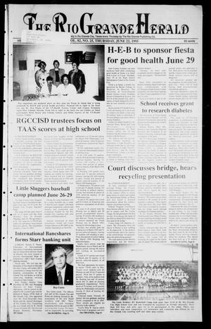 Primary view of object titled 'Rio Grande Herald (Rio Grande City, Tex.), Vol. 82, No. 25, Ed. 1 Thursday, June 22, 1995'.