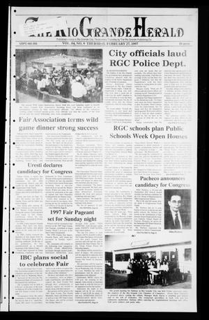 Rio Grande Herald (Rio Grande City, Tex.), Vol. 84, No. 9, Ed. 1 Thursday, February 27, 1997