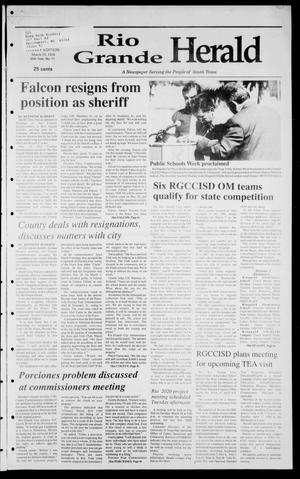 Rio Grande Herald (Rio Grande City, Tex.), Vol. 85, No. 12, Ed. 1 Thursday, March 19, 1998