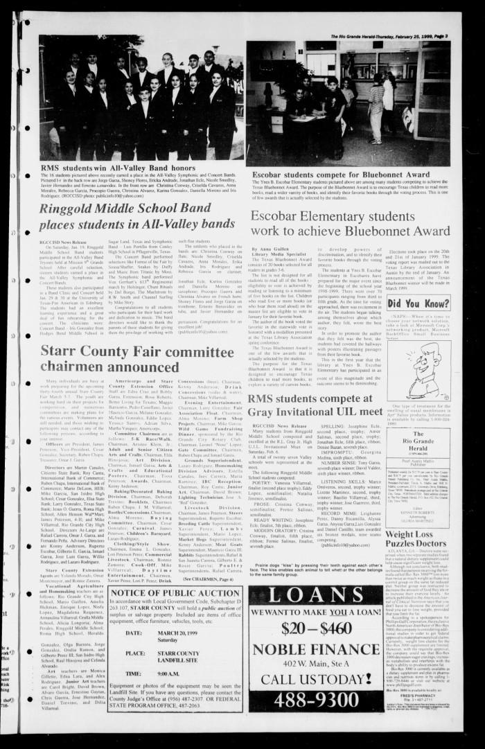 Rio Grande Herald (Rio Grande City, Tex ), Vol  86, No  8