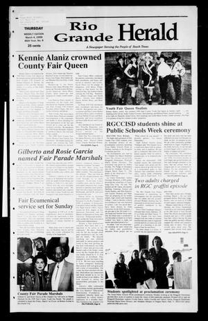 Rio Grande Herald (Rio Grande City, Tex.), Vol. 86, No. 9, Ed. 1 Thursday, March 4, 1999