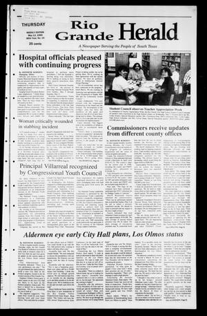Primary view of object titled 'Rio Grande Herald (Rio Grande City, Tex.), Vol. 86, No. 19, Ed. 1 Thursday, May 13, 1999'.