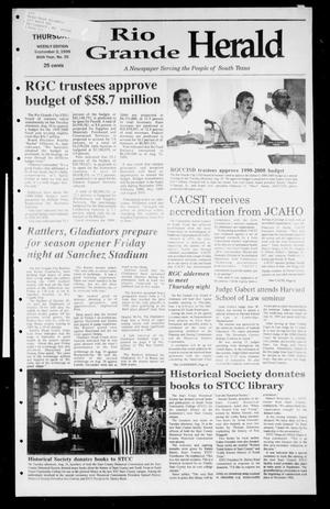 Rio Grande Herald (Rio Grande City, Tex.), Vol. 86, No. 35, Ed. 1 Thursday, September 2, 1999