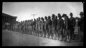 Primary view of object titled '[Students' Army Training Corps drills]'.