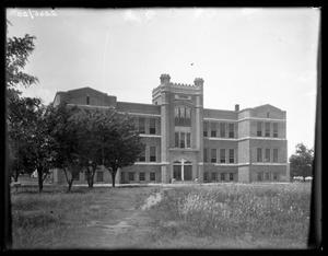 Primary view of object titled '[Clarendon College administration building]'.