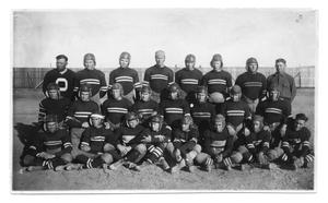 Primary view of object titled '[Photograph of Buffalo football team]'.