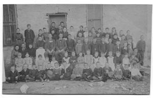 Primary view of object titled '[Group of schoolchildren]'.