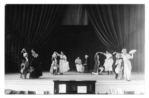 Primary view of object titled '[Drama students at West Texas State Teachers College]'.