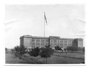 Primary view of object titled '[West Texas State Normal College main building]'.