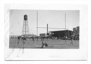 Primary view of object titled '[West Texas State Normal College football game]'.