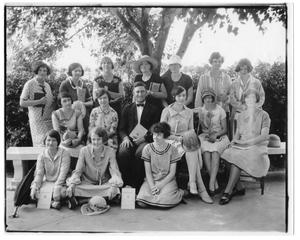 Primary view of object titled '[West Texas State Teachers College students]'.