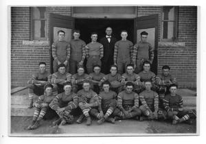 Primary view of object titled '[Canyon High School football team]'.