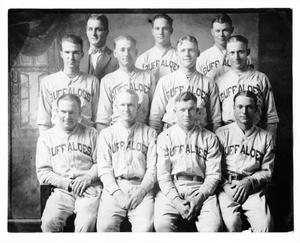 Primary view of object titled 'Buffalo base ball team of season 1926'.