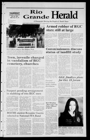Rio Grande Herald (Rio Grande City, Tex.), Vol. 88, No. 39, Ed. 1 Thursday, October 18, 2001