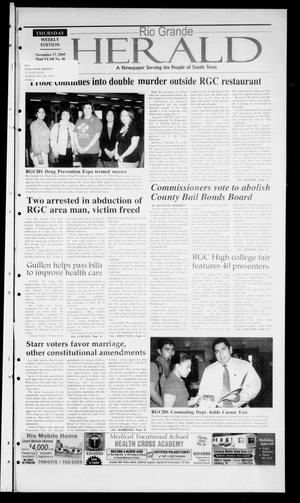 Rio Grande Herald (Rio Grande City, Tex.), Vol. 92, No. 46, Ed. 1 Thursday, November 17, 2005