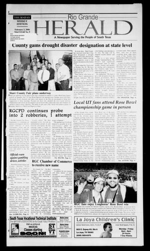 Rio Grande Herald (Rio Grande City, Tex.), Vol. 93, No. 5, Ed. 1 Thursday, February 2, 2006