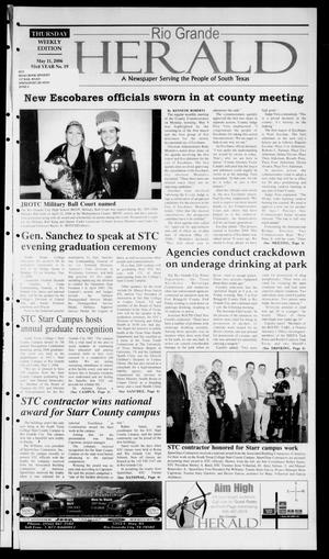 Primary view of object titled 'Rio Grande Herald (Rio Grande City, Tex.), Vol. 93, No. 19, Ed. 1 Thursday, May 11, 2006'.