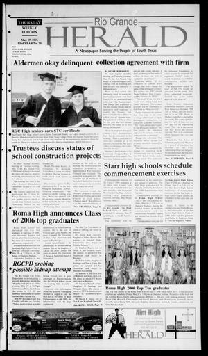 Rio Grande Herald (Rio Grande City, Tex.), Vol. 93, No. 21, Ed. 1 Thursday, May 25, 2006