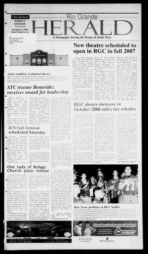 Rio Grande Herald (Rio Grande City, Tex.), Vol. 93, No. 44, Ed. 1 Thursday, November 2, 2006