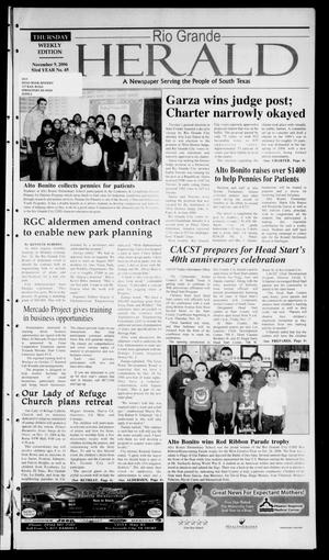 Rio Grande Herald (Rio Grande City, Tex.), Vol. 93, No. 45, Ed. 1 Thursday, November 9, 2006