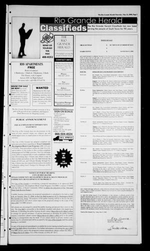 Rio Grande Herald Rio Grande City Tex Vol 95 No 21 Ed 1