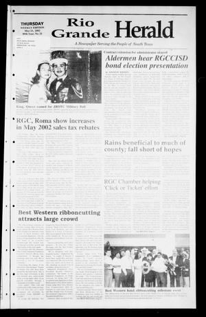 Primary view of object titled 'Rio Grande Herald (Rio Grande City, Tex.), Vol. 89, No. 21, Ed. 1 Thursday, May 23, 2002'.