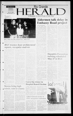 Primary view of object titled 'Rio Grande Herald (Rio Grande City, Tex.), Vol. 91, No. 21, Ed. 1 Thursday, May 20, 2004'.