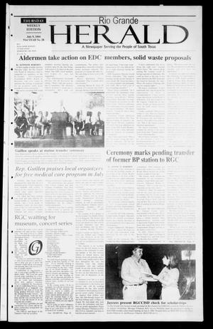 Rio Grande Herald (Rio Grande City, Tex.), Vol. 91, No. 28, Ed. 1 Thursday, July 8, 2004