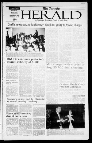 Rio Grande Herald (Rio Grande City, Tex.), Vol. 91, No. 37, Ed. 1 Thursday, September 9, 2004