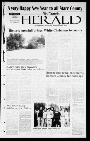 Rio Grande Herald (Rio Grande City, Tex.), Vol. 91, No. 53, Ed. 1 Thursday, December 30, 2004