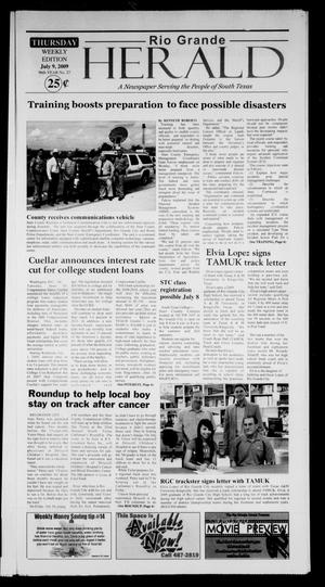 Rio Grande Herald (Rio Grande City, Tex.), Vol. 96, No. 27, Ed. 1 Thursday, July 9, 2009