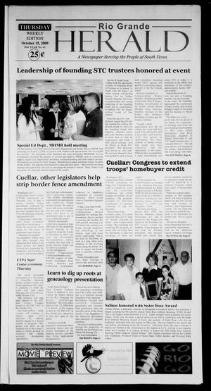 Rio Grande Herald (Rio Grande City, Tex.), Vol. 96, No. 41, Ed. 1 Thursday, October 15, 2009