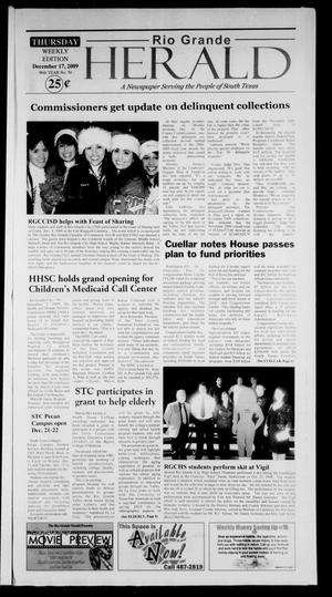 Rio Grande Herald (Rio Grande City, Tex.), Vol. 96, No. 50, Ed. 1 Thursday, December 17, 2009