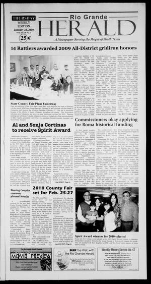 Rio Grande Herald (Rio Grande City, Tex.), Vol. 97, No. 3, Ed. 1 Thursday, January 21, 2010