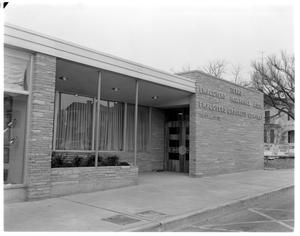 Primary view of object titled 'Exterior of Texas Employers Insurance Association'.