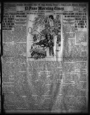 Primary view of object titled 'El Paso Morning Times (El Paso, Tex.), Vol. 35TH YEAR, Ed. 1, Monday, November 30, 1914'.
