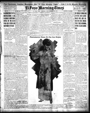 El Paso Morning Times (El Paso, Tex.), Vol. 35TH YEAR, Ed. 1, Friday, December 11, 1914