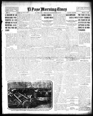 Primary view of object titled 'El Paso Morning Times (El Paso, Tex.), Vol. 35TH YEAR, Ed. 1, Wednesday, December 30, 1914'.