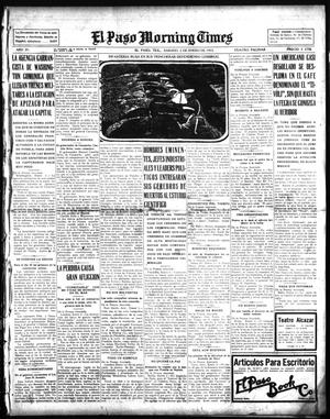 El Paso Morning Times (El Paso, Tex.), Vol. 35TH YEAR, Ed. 1, Saturday, January 2, 1915