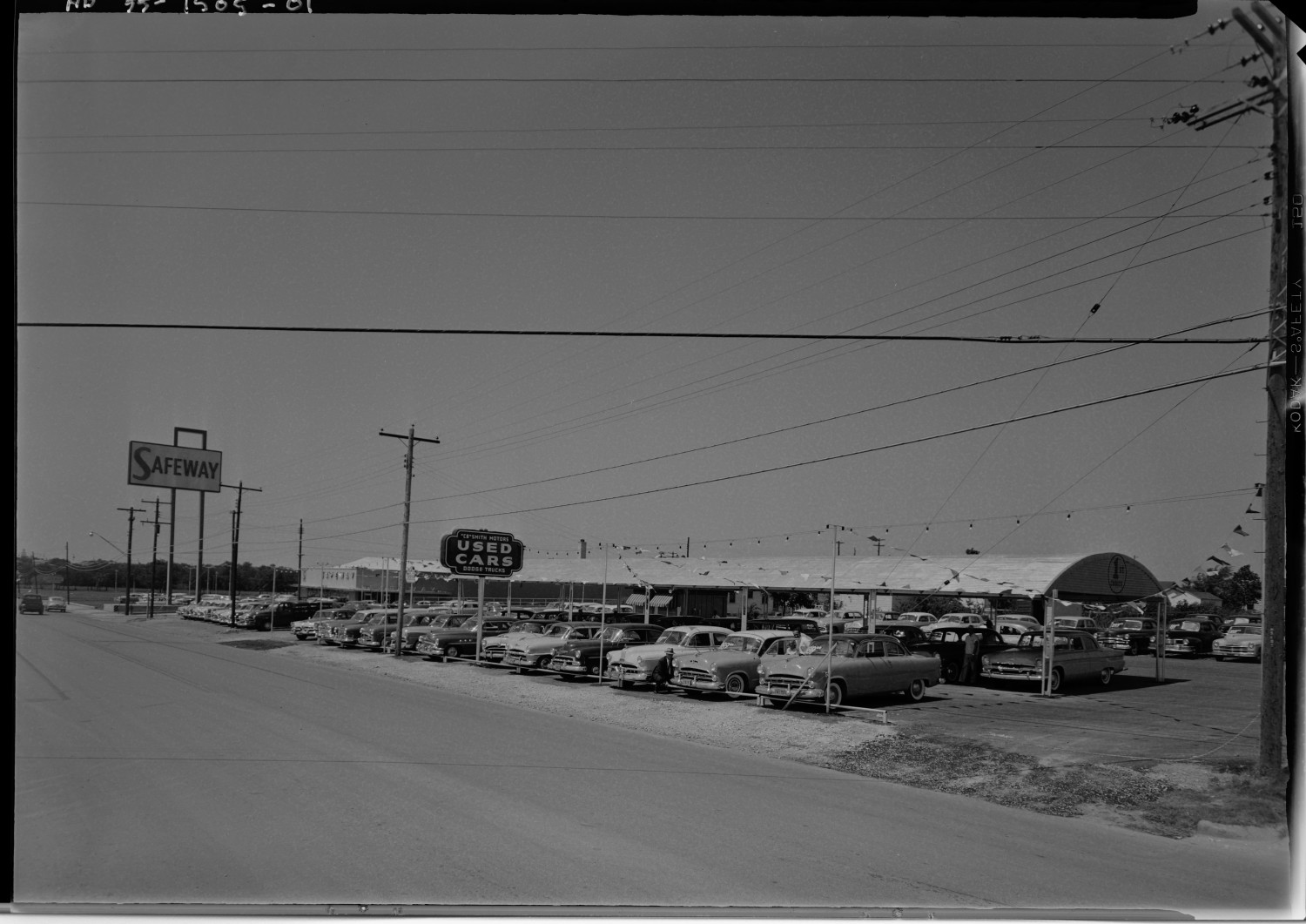 Cb Smith Motors Used Cars Side 1 Of 1 The Portal To Texas History